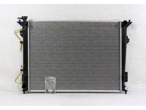 PAC 06-10 HYUNDAI AZERA AT/MT, 06-08 HYUNDAI SONATA AT/MT,3.3L 06-10 KIA OPTIMA AT/MT,2.7L Radiator 1-row PLASTIC TANK/ALUMINIUM CORE PR2832A