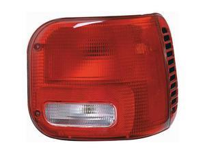 Collison Lamp Tail Light Lens 11-5347-01