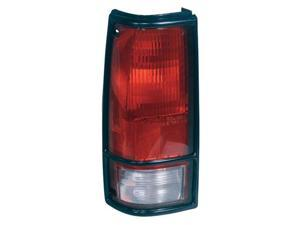 Collison Lamp 82-90 GMC S15 82-93 Chevrolet S10 91-93 GMC Sonoma Tail Light Lens Left 11-1325-93