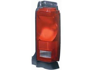 Collison Lamp 87-90 Dodge Caravan 87-90 Plymouth Voyager 88-90 Dodge Grand Caravan 88-90 Plymouth Grand Voyager 90-90 Chrysler Town & Country Tail Light Lens Right 11-1784-01