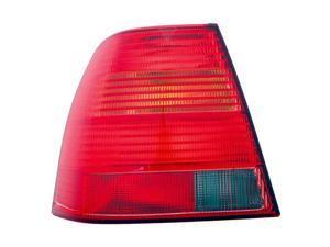 Collison Lamp 99-03 Volkswagen Jetta Tail Light Lens Left 11-5948-01