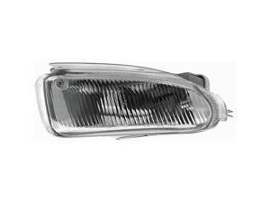 Collison Lamp 96-98 Dodge Caravan 96-98 Dodge Grand Caravan 96-98 Plymouth Grand Voyager 96-98 Plymouth Voyager Fog Light Assembly Left 19-5342-00