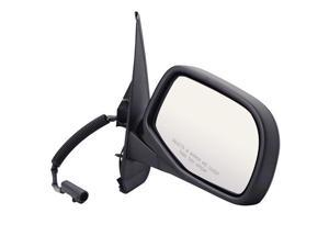Pilot 91-94 Ford Explorer Paddle Design Power Non Heated Mirror Right Black Smooth 3020031