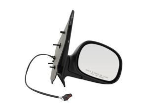 Pilot 02-03 Ford F-150 Light Duty Crew Cab Contour Mirror Power Non Heated Mirror Right Black Smooth/Textured FD949410KR