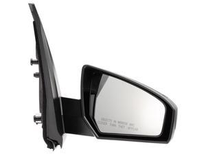 Pilot 07-10 Nissan Sentra Power Non Heated Mirror Right Black Smooth NS269410AR