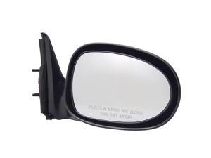 Pilot 98-99 Nissan Altima Power Non Heated Mirror Right Black Smooth 5700131