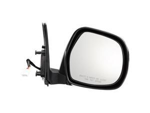 Pilot 03-09 Lexus GX470 Power Heated Mirror Right Black Smooth LX1094100R