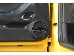 10-12 Chevrolet Camaro Defenderworx Chrome Bowtie Speaker Covers Chrome Set of 2 CC-1016