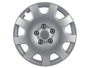 Pilot Gear Silver 9 Spoke 15' Wheel Cover WH524-15S-BX