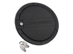 "T-REX 2010-2012 Chevrolet Camaro Defenderworx Locking Gas Door w/ ""CAMARO"" - Black BLACK 6910061"