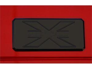 T-REX  X-METAL Series - Body Side Badges - 3 Pc - Black CHROME 6700031