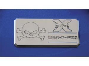 "T-REX  ""Man-O-War"" Series - Body Side Badges - 1 Pc - Chrome CHROME 6800012"