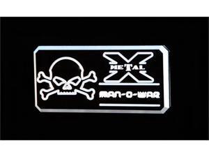 "T-REX  ""Man-O-War"" Series - Body Side Badges - 3 Pc - Black/ Machine BLACK/MACH 6800033"