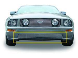 T-REX 2005-2009 Ford Mustang GT Models Bumper Billet - GT Models (8 Bars) POLISHED 25516