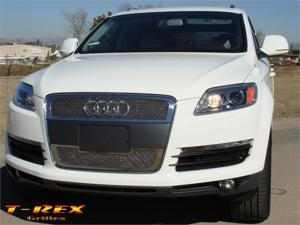 T-REX 2007-2008 Audi Q7 Upper Class Polished Stainless Mesh Grille - 2 Pc POLISHED 54989