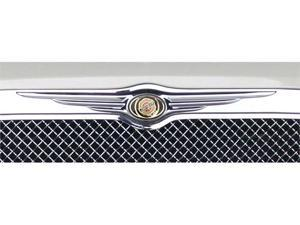 T-REX 2005-2010 Chrysler 300 (All) OE Logo can be installed on grilles 20472, 54471, 70471 & 80471 (OE P/N 1-4805988AA) CHROME 19471