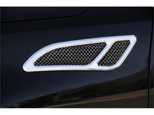 T-REX 2011-2012 Infiniti QX56 Upper Class Side Vents (pair), Replacement, Polished POLISHED 54794