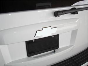 "T-REX 2007-2012 Chevrolet Tahoe, Suburban Billet Bowtie - Rear - Plain - Polished (8"" Length) POLISHED 19053"
