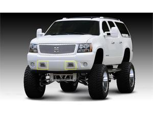 T-REX 2007-2012 Chevrolet Avalanche X-METAL Series - Studded Bumper Grille - Polished SS POLISHED 6720510
