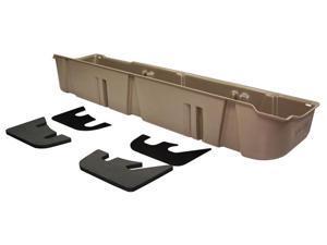 DU-HA Underseat Storage / Gun Case - Fits 2009-2012 Ford F-150 SuperCrew w/subwoofer - Tan 20080