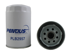 Pentius PLB2957 Red Premium Line Spin-On Oil Filter BMW 325/525,Mercedes Benz 190E/260E/300E,Volkswagen Corrado