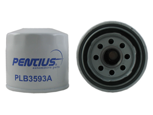 Pentius PLB3593A Red Premium Line Spin-On Oil Filter Acura,Chevrolet,Dodge,Ford,Geo,Honda Accord,Hyundai,Isuzu,Kia,Mazda,Pontiac