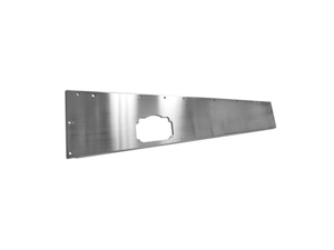 Rugged Ridge 11144.10 Dash Panel, Stainless Steel, 76-86 Jeep CJ Models
