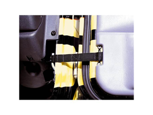 Rugged Ridge 12103.01 Adjustable Door Straps, 55-06 Jeep CJ And Wrangler