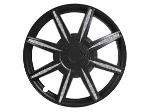Pilot Diamond Dust 15 Inch Wheel Cover, Matte Black WH531-15B-B