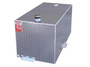 Aluminum DOT 110 gallon rectangle refueling tank TTR110