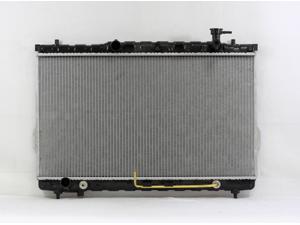 PAC 01-06 HYUNDAI SANTAFE A/T,4/6CY,2.4/2.7L Radiator 1-row PLASTIC TANK/ALUMINIUM CORE  PR2389F
