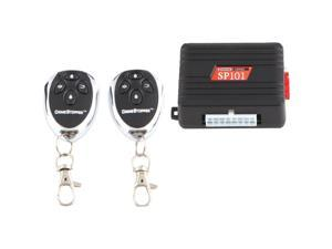 CRIMESTOPPER SP-101 Universal Entry Level 1-Way Security & Keyless-Entry System