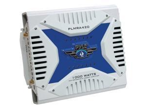 Pyle Plmra420 Waterproof Marine Bridgeable Mosfet Amplifiers (4-channel&#59; 1000 Watt)