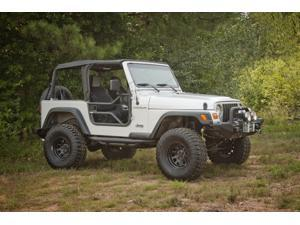 Rugged Ridge Tube Doors, Locking, 97-06 Jeep TJ Wrangler 11509.20