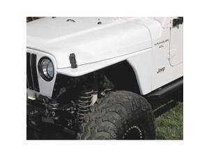 Rugged Ridge 12004.53 RRC Tubular Steel Flat Fender Kit, 97-06 Jeep Wrangler