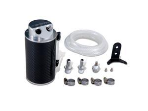 Mishimoto Carbon Fiber Oil Catch Can 10mm Fittings MMOCC-CF