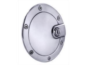All Sales 6053BCL Billet Fuel Door Trim