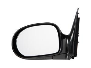 Pilot 02-05 Kia Sedona LX Model Power Non Heated Mirror Left Black Smooth KA8094100L