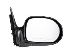 Pilot 02-05 Kia Sedona EX Model Power Heated Mirror Right Black Smooth KA809410AR