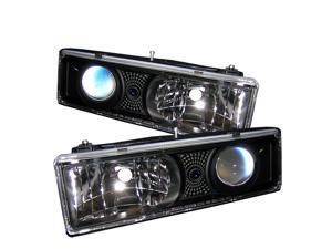 Spyder Auto ( Replaceable City Lights ) Projector Headlights - Black PRO-YD-CCK88-BK