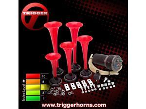 Trigger Horns Southern Belle 5 Trumpet Southern Dixie Horn Kit with Compressor TRGH170