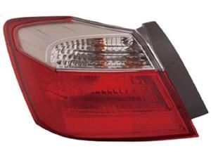 Eagle Eyes 2013 TO 2013 HONDA ACCORD TAIL LIGHT Partslink# HO2805101 OE Part# 33500-T2A-A01 Passenger Side HD608-B000R