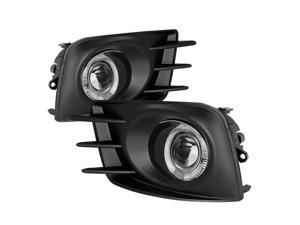 Spyder Auto Scion TC 2011-2013 Halo Projector Fog Lights - Clear 5070524