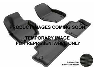 3D MAXpider Floor Mat VOLKSWAGEN JETTA 2011-2014 SDN KAGU BLACK R2 L1VW05521509