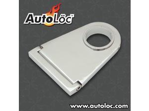 Autoloc 4.5 Inch Swivel Billet Column Drop With Ringloc Adjustable Column Hole BWD45