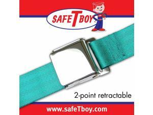 Safe Tboy 2pt Aqua Retractable Airplane buckle - Each STBSB2RAAQ