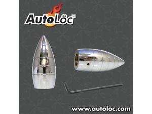 Autoloc Bullet Ribbed Wiper Caps - 1 Pair AUTWC2