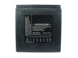 UPG Adventure Power UBVT-2 Sealed AGM V-Twin Power Sports Battery 42024