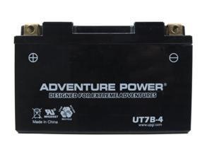 UPG Adventure Power UT7B-4 Sealed AGM Power Sports Battery 42042