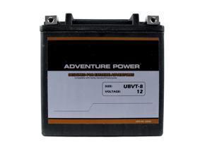 UPG Adventure Power UBVT-8 Sealed AGM V-Twin Power Sports Battery 42030